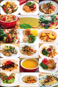 Healthy Food Photo Poster 12X18