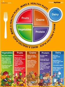 All you need to know about MyPlate, in one handy poster!