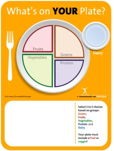 Erasable School Lunch Menu Poster for new school lunch program