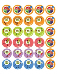 graphic regarding Myplate Printable named 3 Interactive MyPlate Pursuits - Foodstuff and Physical fitness