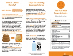 With a few simple changes, people can feel full while eating fewer calories!