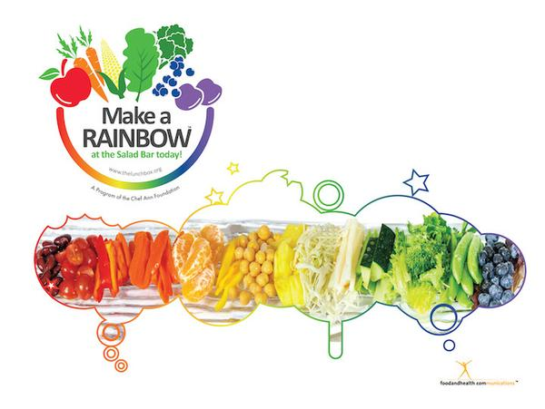 Rainbow 11x8.5 Cling