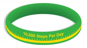 10,000 Steps Wristbands