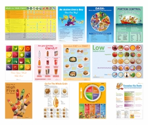 12 Nutrition Posters Value Set