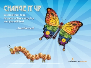 Change It Up Health Fair Banner