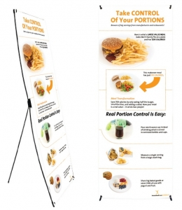 Portion Control Banner