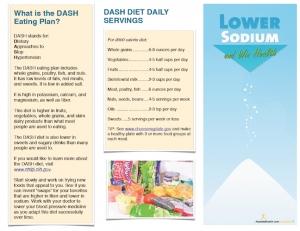 Sodium Brochure
