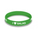 I Love Salad Wristband