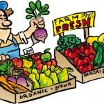Farmers market clipart