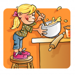 Kid's Cooking Clipart