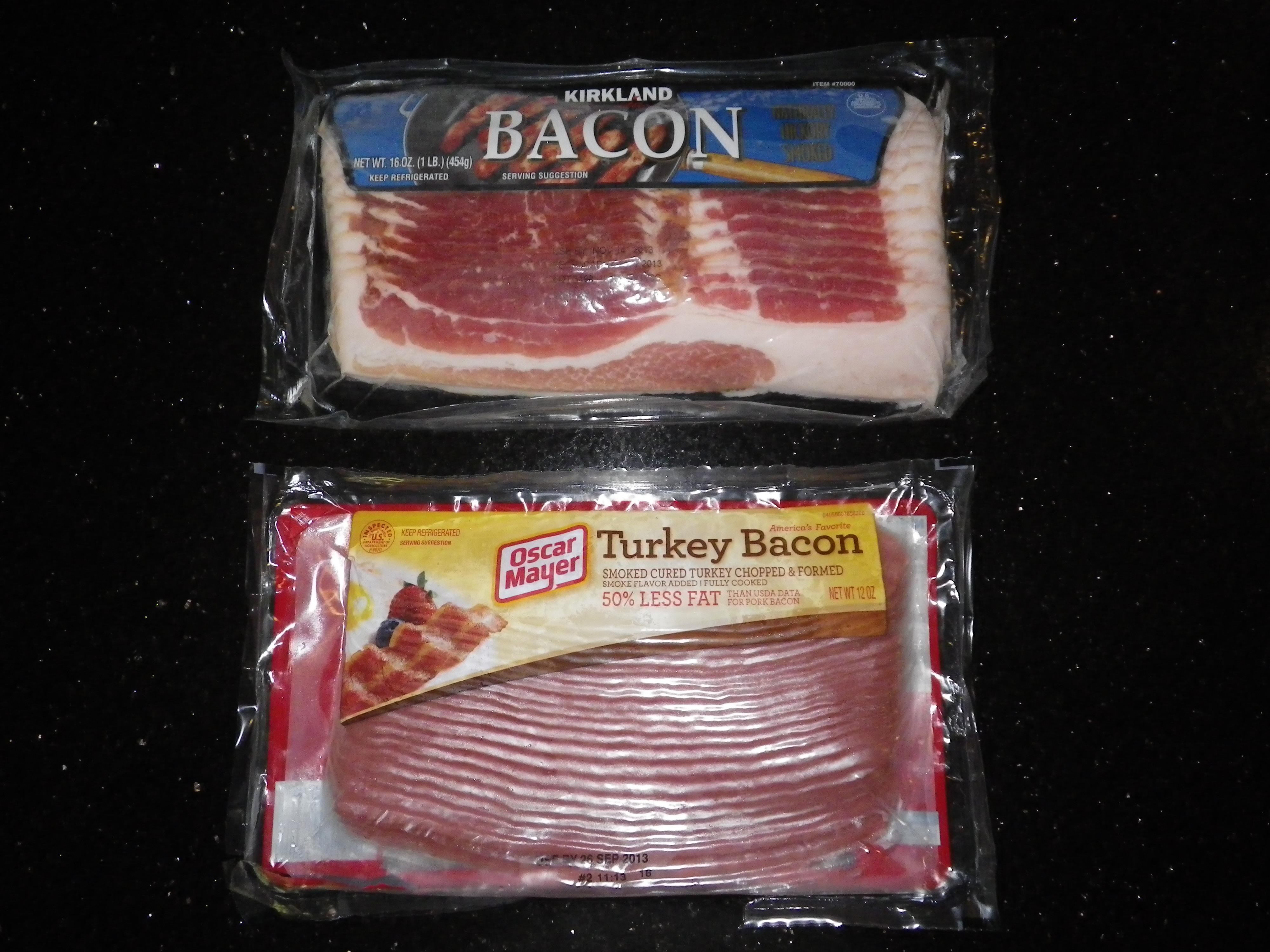 pork bacon vs turkey bacon nutritioneducationstore com