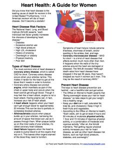 Women Heart Health