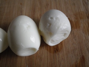 Oddly-Shaped Older Eggs