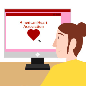 Checking in with the American Heart Association