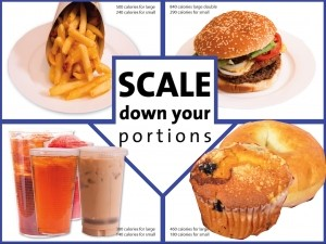 Scale Down Your Portions