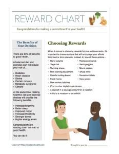 Reward Chart Handout