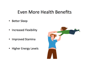 Even More Health Benefits