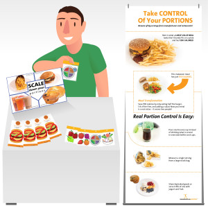 Portion Control Table