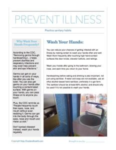Avoid Norovirus