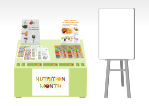 Display for Nutrition Month