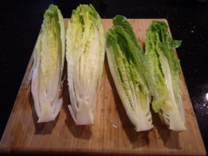 Sliced Romaine