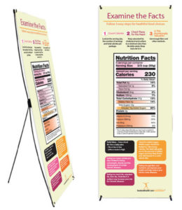 Nutrition Facts Label Banner