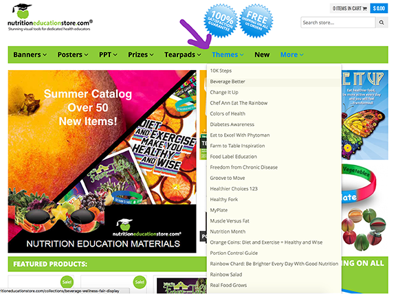 nutritioneducationstore com | Nutrition Education Resources